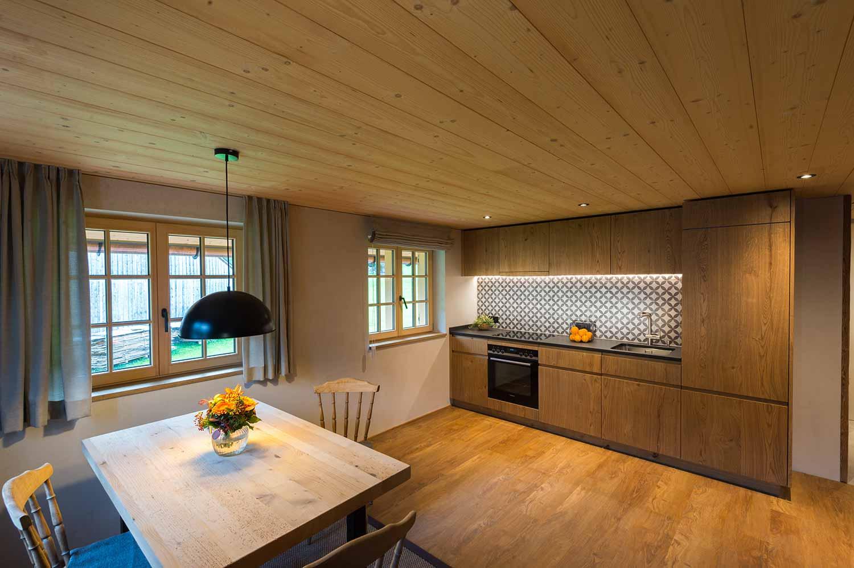 Mittagspitze Wohnküche