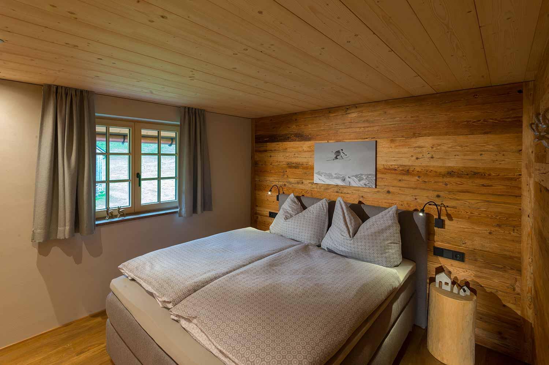 Mittagsspitze Schlafzimmer